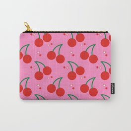 Cherry Bomb Pattern Carry-All Pouch