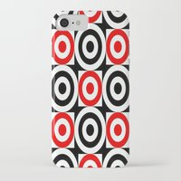 chicago bulls iPhone & iPod Cases featuring Bulls EYE by Sacred Symmetry