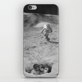 Lovers on the Moon iPhone Skin
