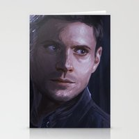 winchester Stationery Cards featuring Dean Winchester by JazzySatinDoll