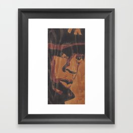 Jay Framed Art Print