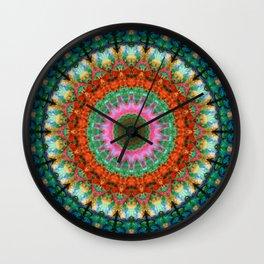 Life Joy - Mandala Art By Sharon Cummings Wall Clock