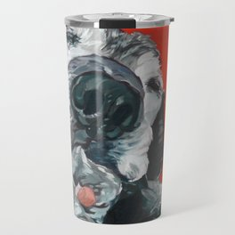 Leonard the Senior Dog Travel Mug