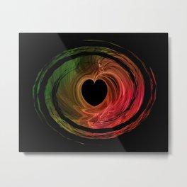 Love Spun Metal Print