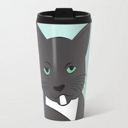 Meow, meow. Travel Mug