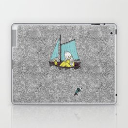 Old Man and the Sea Laptop & iPad Skin