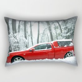 No traction, no chains, no Grip! Rectangular Pillow