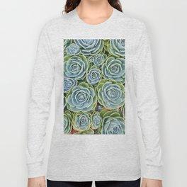 Succulent Garden Long Sleeve T-shirt