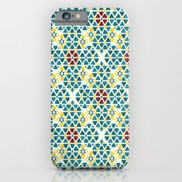 Mediterranean Rhombi iPhone Case