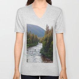 Mountain River Unisex V-Neck