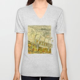 Tweetsie Railroad Unisex V-Neck