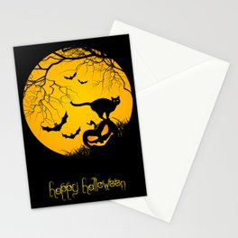 happy halloween graphic illustration Stationery Cards
