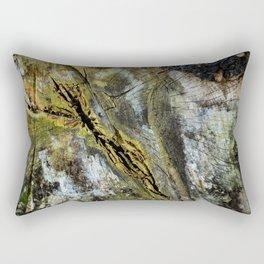 Rotten Cross Section Rectangular Pillow