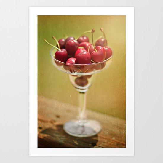 Cherry 'rita anyone? Art Print