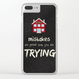 You are trying Clear iPhone Case