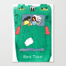 Bed Time #03 Canvas Print