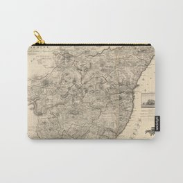 Map Of Kincardine 1774 Carry-All Pouch