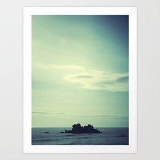 Island. Art Print
