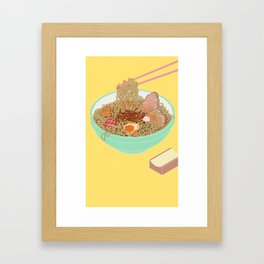 Ramen! Framed Art Print