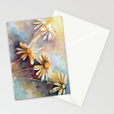 Purple Dream Garden, watercolor explorations Stationery Cards