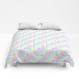 Springtime Butterfly Swirls Comforters