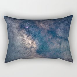 Milky Way Core Rectangular Pillow