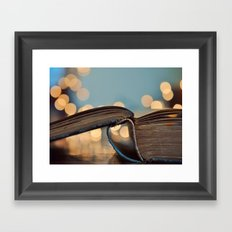 Happy Monday Framed Art Print