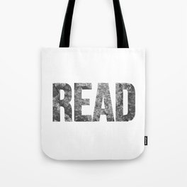 Read Dictionary Page Black Tote Bag
