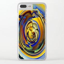 Monkey Bear Clear iPhone Case