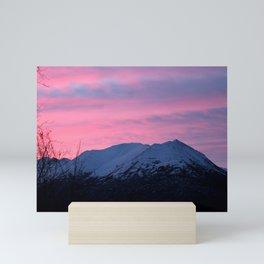 Pink Sunrise Mini Art Print
