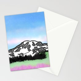 Mount Rainier Stationery Cards