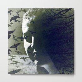 Dark-Side (Self-portrait) Metal Print