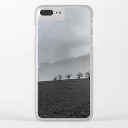 Pastoral Horizon Clear iPhone Case