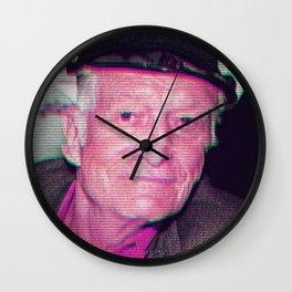 Hugh Hefner Wall Clock