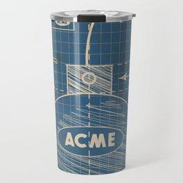 Acme Spherical Bomb vintage Blueprint Travel Mug