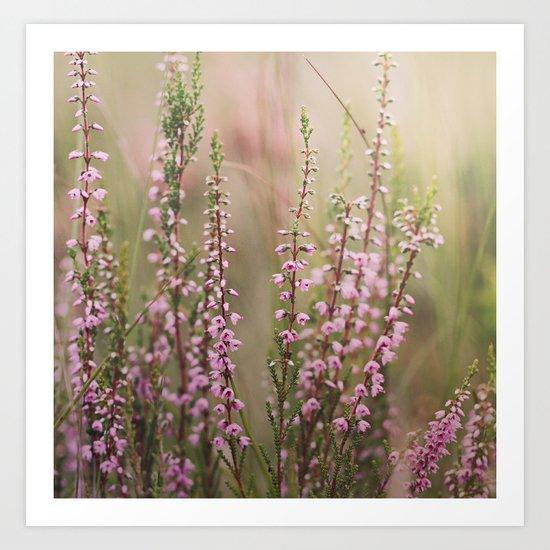 Little flowers. Art Print