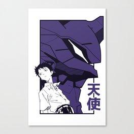 Evangelion eva01 shinji Canvas Print