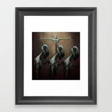 Religion as Social Control Framed Art Print