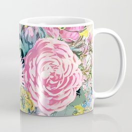 Watercolor vintage floral illustration Coffee Mug