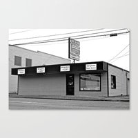 discount Canvas Prints featuring Discount appliance shop by Vorona Photography