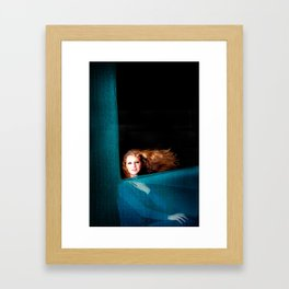Inspired by Chagall..  Framed Art Print