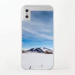 Distance Clear iPhone Case