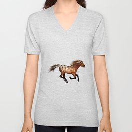 HORSE - An Appaloosa called Ginger Unisex V-Neck