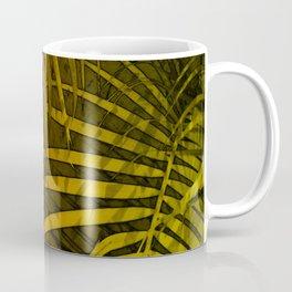TROPICAL LEAVES GREEN MOCCA no1 Coffee Mug