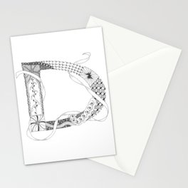 "Zenletter ""D"" Stationery Cards"