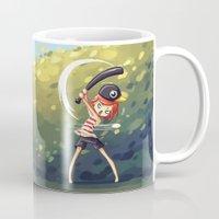 baseball Mugs featuring Baseball by Freeminds