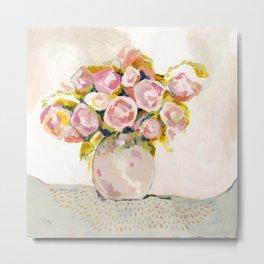 Always Choose Flowers Metal Print