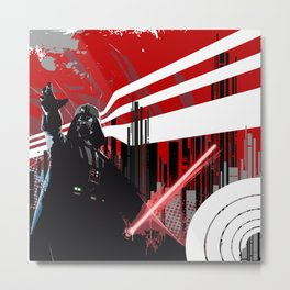 Red is the new Darkside Metal Print