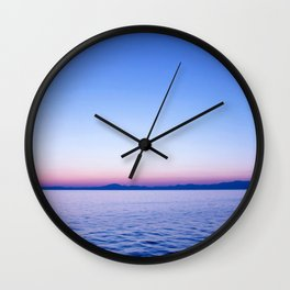 See my Sea #society6 Wall Clock