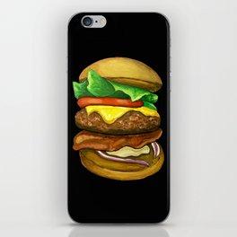 Burger iPhone Skin
